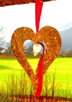 Herz für Fenster oder Türe