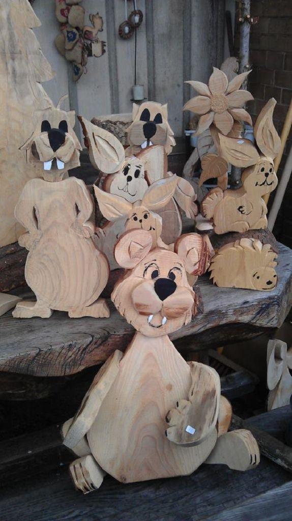 Bär aus Holz