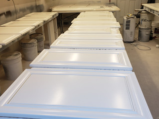 Custom cabinets painting