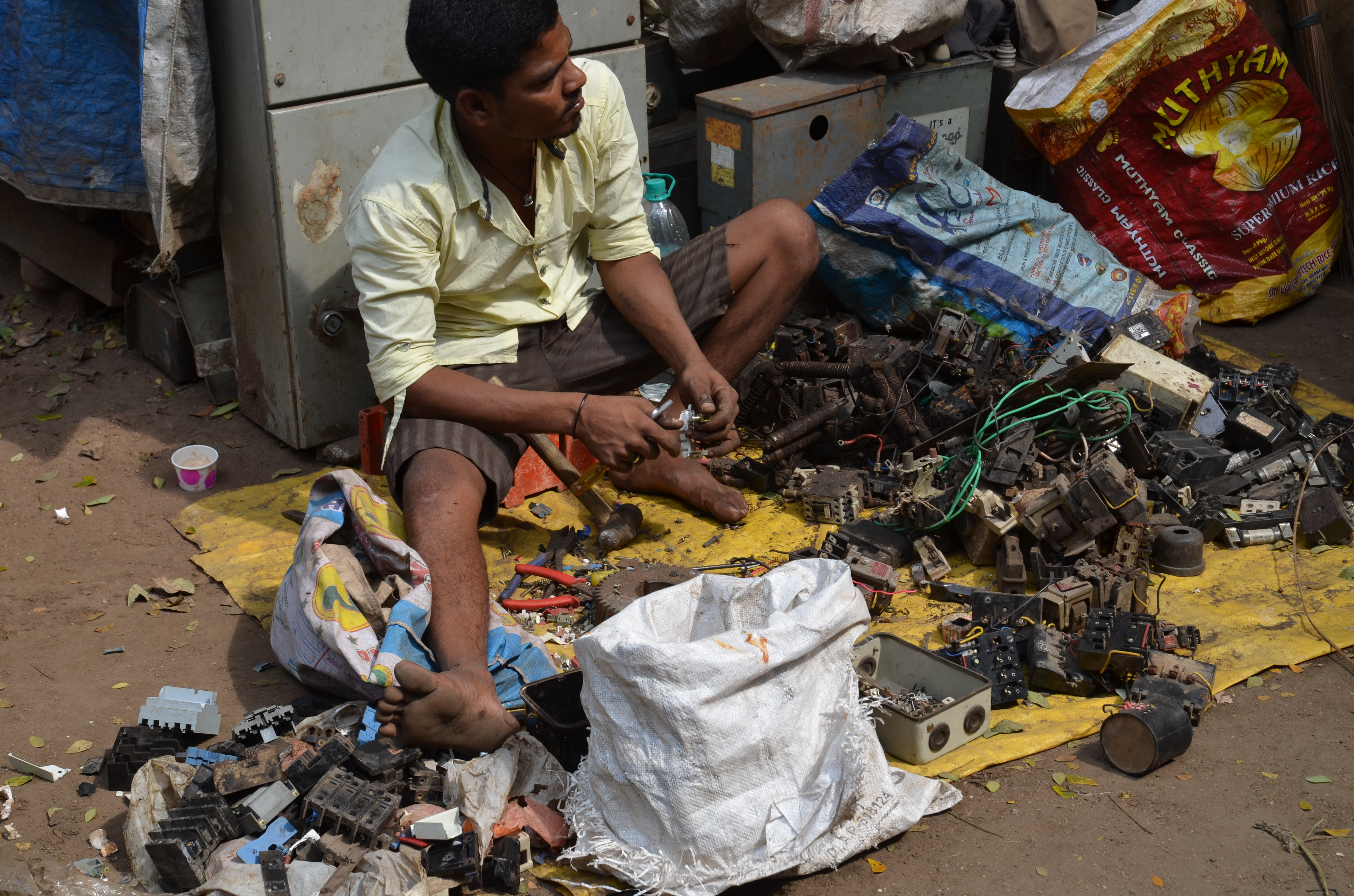 Finding E-waste