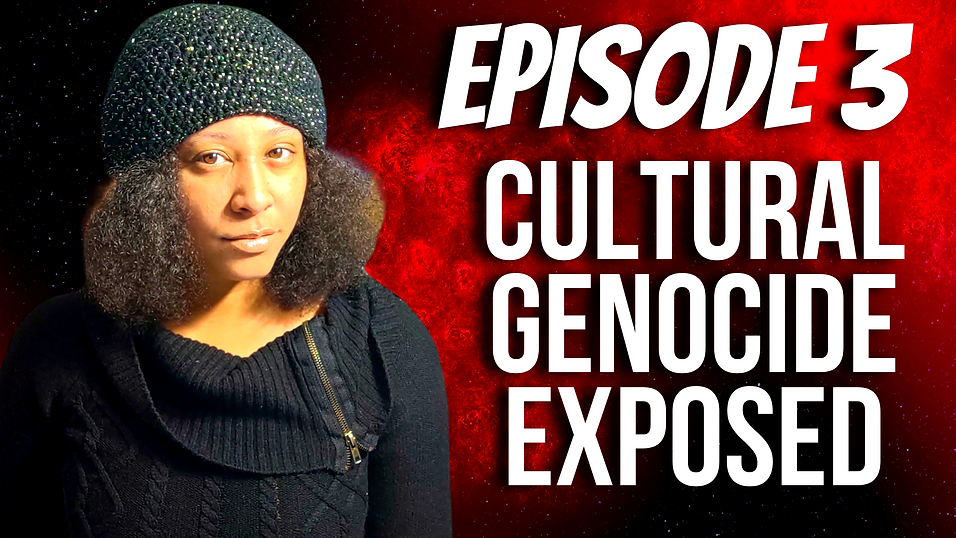 THE RACHEL PHOTON SHOW EPISODE 3 CULTURAL GENOCIDE EXPOSED