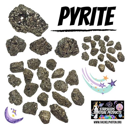 PYRITE (ONE PIECE RAW) - STARSEEDS SPIRITUAL PRODUCTS BY RACHEL PHOTON