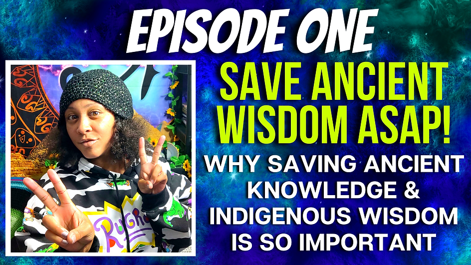 THE RACHEL PHOTON SHOW EPISODE 1 WHY SAVING ANCIENT KNOWLEDGE & WISDOM IS SO IMPORTANT