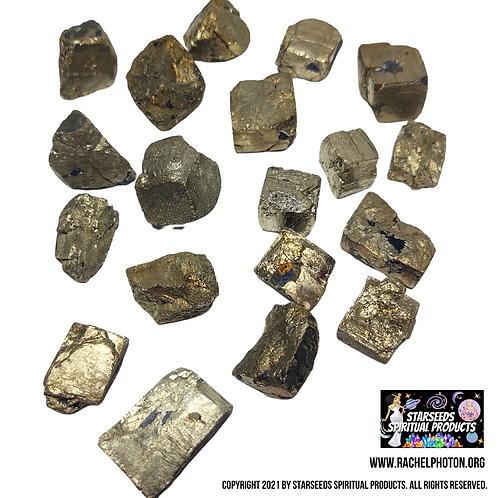 PYRITE (THREE PIECES NATURAL) - STARSEEDS SPIRITUAL PRODUCTS
