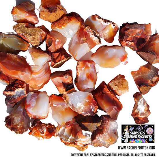 RED CARNELIAN (3 PIECES NATURAL) - STARSEEDS SPIRITUAL PRODUCTS