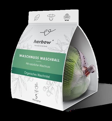 Herbow žogica s pralnimi oreščki za pranje perila