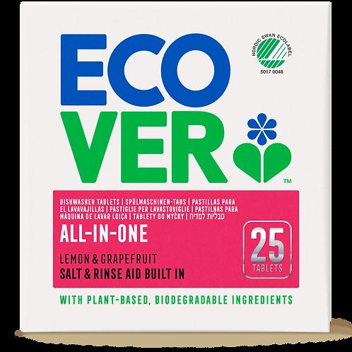 ECOVER ekološke tablete za strojno pomivanje posode VSE-V-1 500g