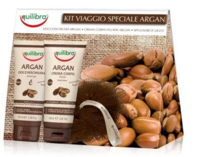 Equilibra Arganovo olje darilni paket - nega telesa