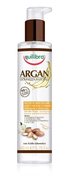 Equilibra Arganovo olje micelarna voda 200ml