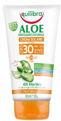 Equilibra Aloe PRIOSUN-UV krema za sončenje SPF 30 150ml