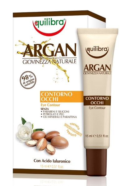 Equilibra Arganovo olje krema za oči 15ml