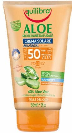 Equilibra Aloe PROSUN-UV KIDS krema za sončenje SPF50+ 150ml