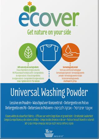 ECOVER ekološki univerzalni prašek za pranje perila 1,2 kg