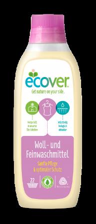 ECOVER ekološki specialni detergent za perilo in volno 1l