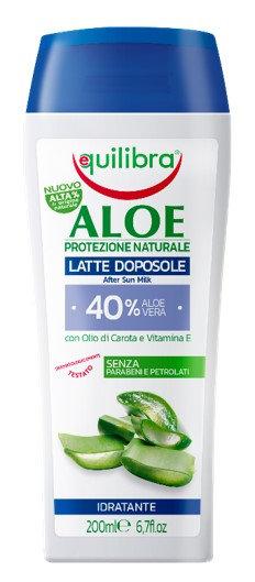 Equilibra Aloe mleko po sončenju 200 ml