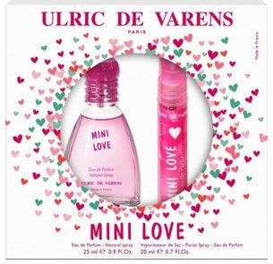 UDV DARILNI PAKET Mini Love EDP 25ml+20ml