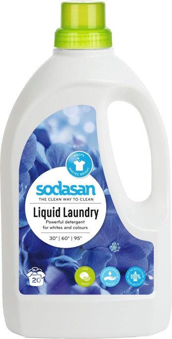 SODASAN tekoči detergent za pranje perila Limeta 1,5l