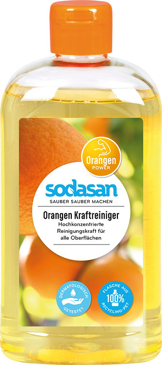 SODASAN močno univerzalno čistilo pomaranča 500ml