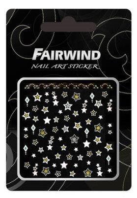 FAIRWIND okrasne nalepnice za nohte Winter Stars