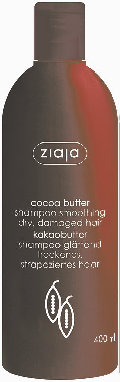 ZIAJA KAKAVOVO MASLO Šampon za lase 400 ml