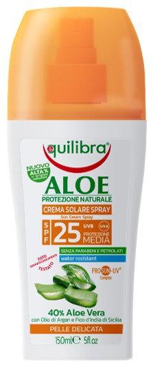 Equilibra Aloe PROSUN-UV krema v sprayu SPF25 150ml