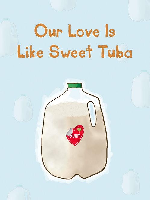 'Tuba' Greeting Card