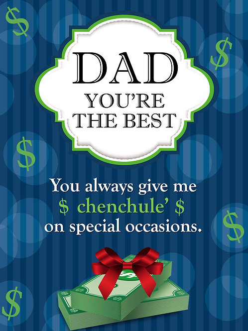 'Dad Chenchule'' Greeting Card