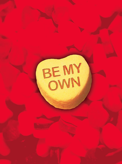 'Be My Own' Greeting Card