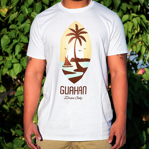 Guahan Seal (White) T-Shirt Set