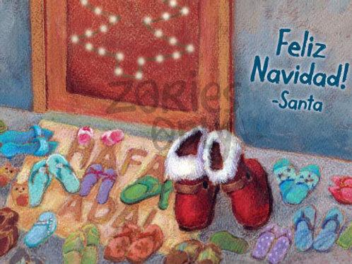 'Hafa Adai Santa' Greeting Card