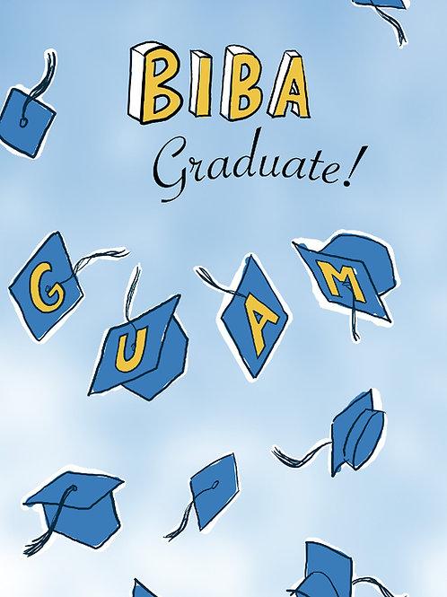 'Biba Grad' Greeting Card