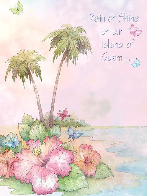 'Mom-Rain or Shine' Greeting Card
