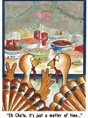 'Turkey Kelaguen' Greeting Card