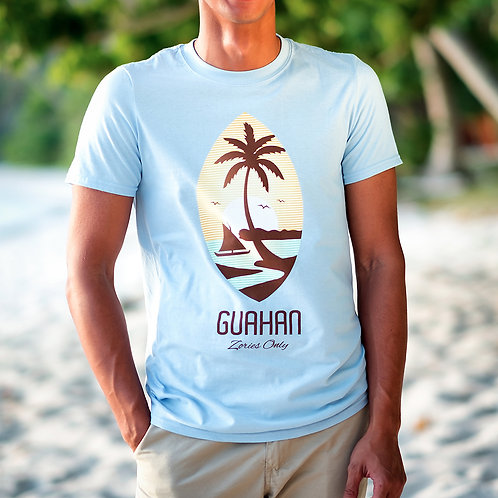 Guahan Seal Tee (Light Blue) Set