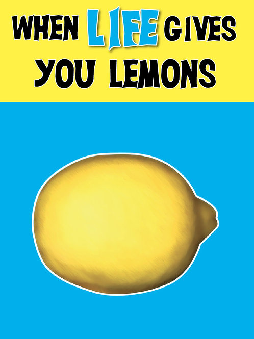'Lemons' Greeting Card