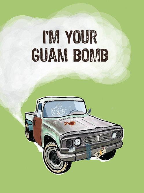 'Guam Bomb' Greeting Card
