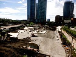 Skate Plaza Taking Shape