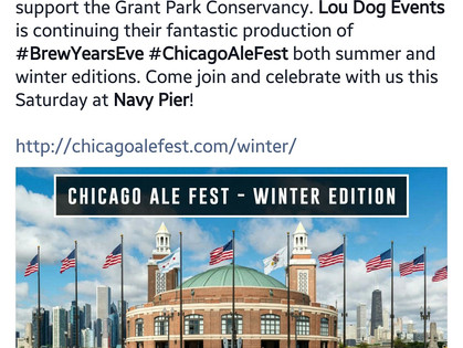 Chicago Ale Fest at Navy Pier