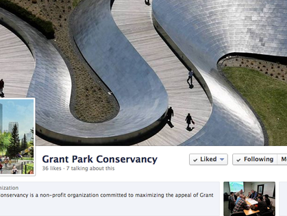 Grant Park Conservancy on Facebook!