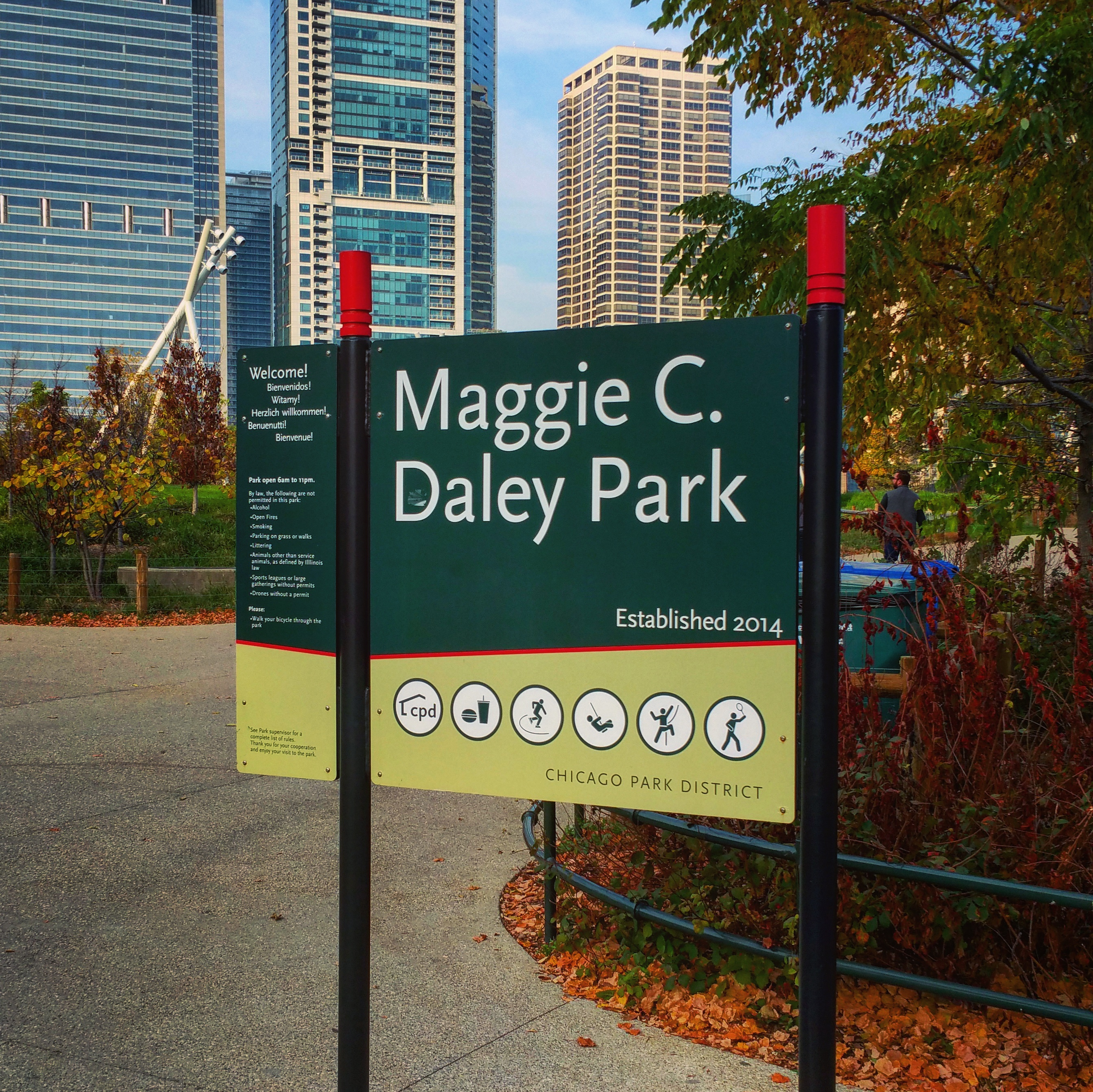 Maggie Daley Park Entrance
