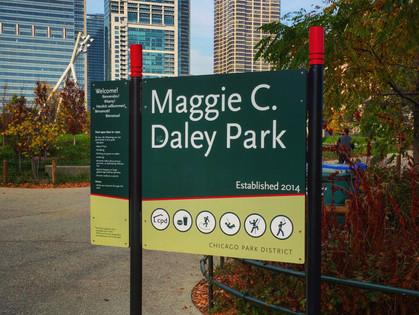 A Walk In Grant Park