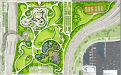 Maggie Daley Park Detail