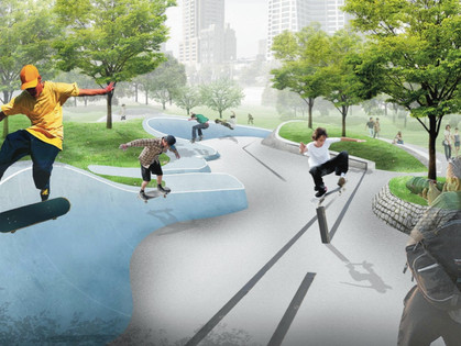 The Grant Park Skate Plaza and Performance Space Gets Mayoral Support