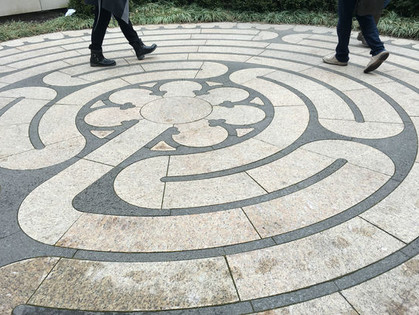 Grant Park 'Labyrinth' Pitched To Help Visitors Find Peace