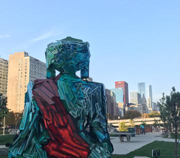 'Urban Buddha' gets a Grant Park transplant