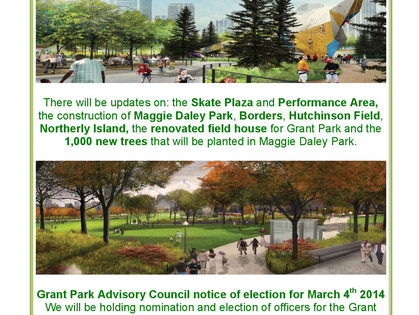 The Grant Park Conservancy and Advisory Council Public Meeting