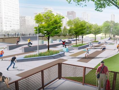 New Skate Park Rendering