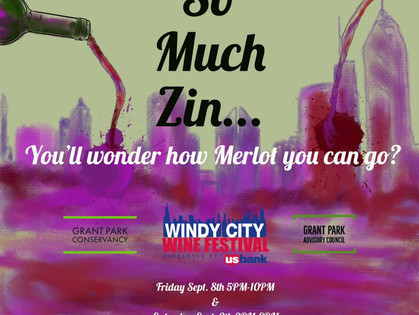 Windy City Wine Festival in Grant Park was a Success in 2017!