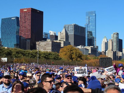 Cubs World Series rally repairs total $388,000 in Grant Park