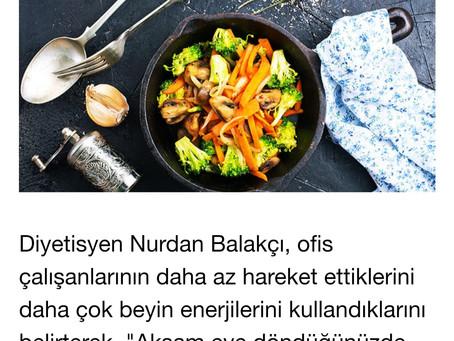 Hürriyet Leziz-Çalışanlar için Önemli Mutfak Tüyoları